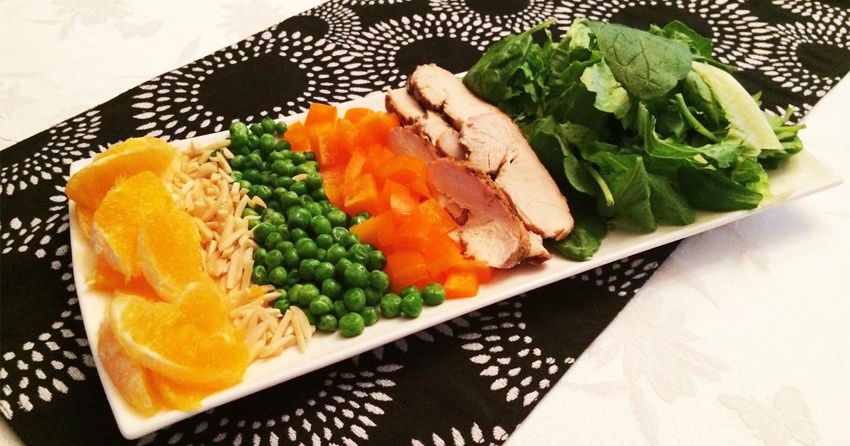 Eye-Healthy Chicken Chopped Salad Recipe