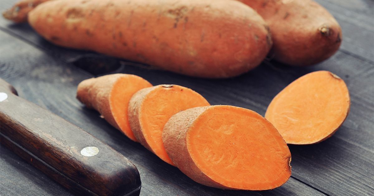 sweet potato for eye health