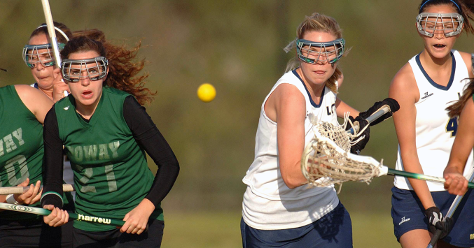 15fc424a8d2cf girls playing lacrosse wearing protective eyewear