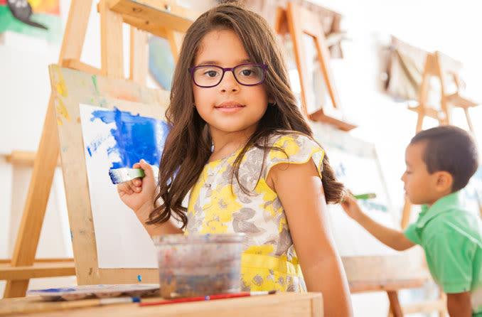Kinder im Vorschulalter können Sehprobleme haben