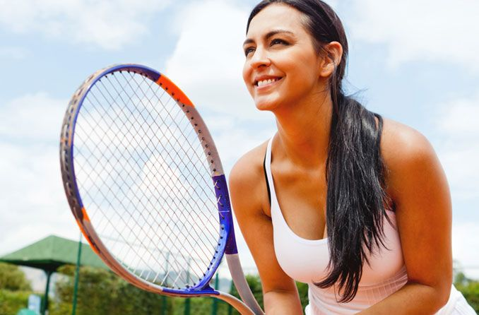 Contact lenses that improve sports performance