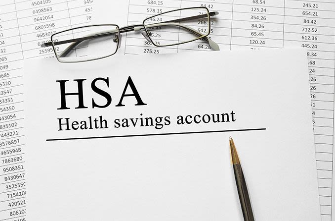 Health Savings account paperwork