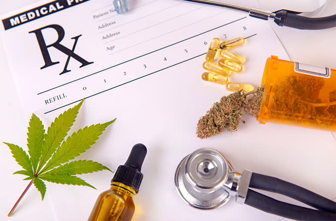 prescribed marijuana and CBD for cataracts