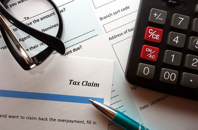 tax claim form for vision insurance