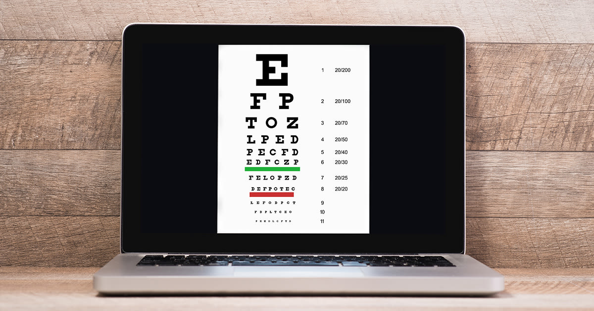 online eye test
