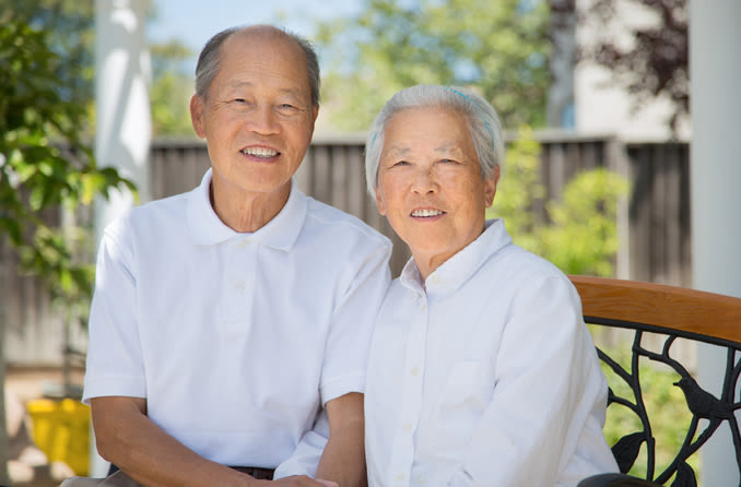 年長的夫婦 Nián zhǎng de fūfù