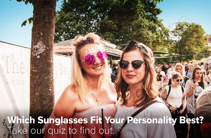 sunglasses personality quiz image