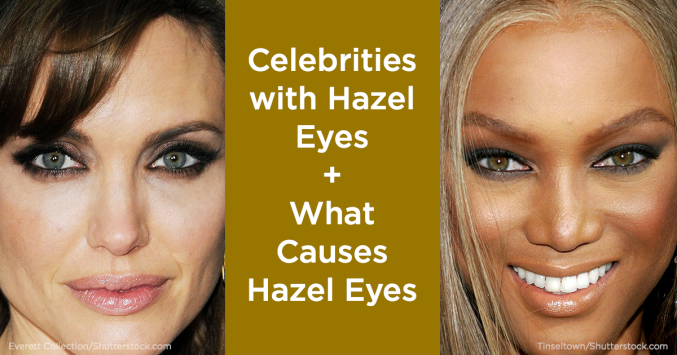 celebrities with hazel eyes