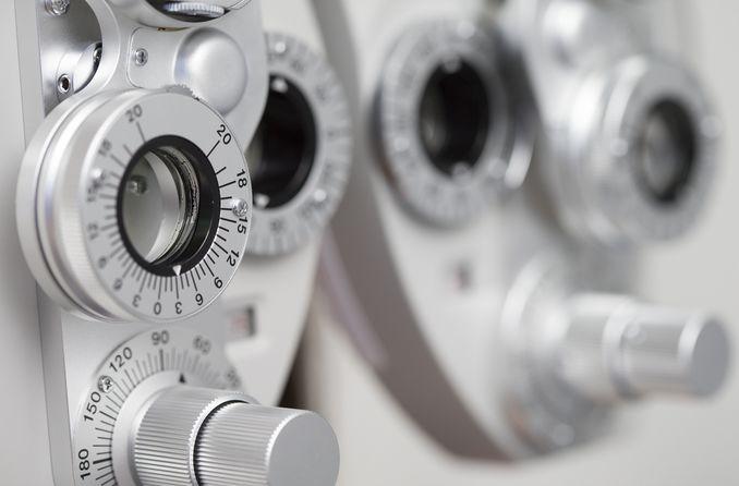 oftalmik test cihazı makinesi