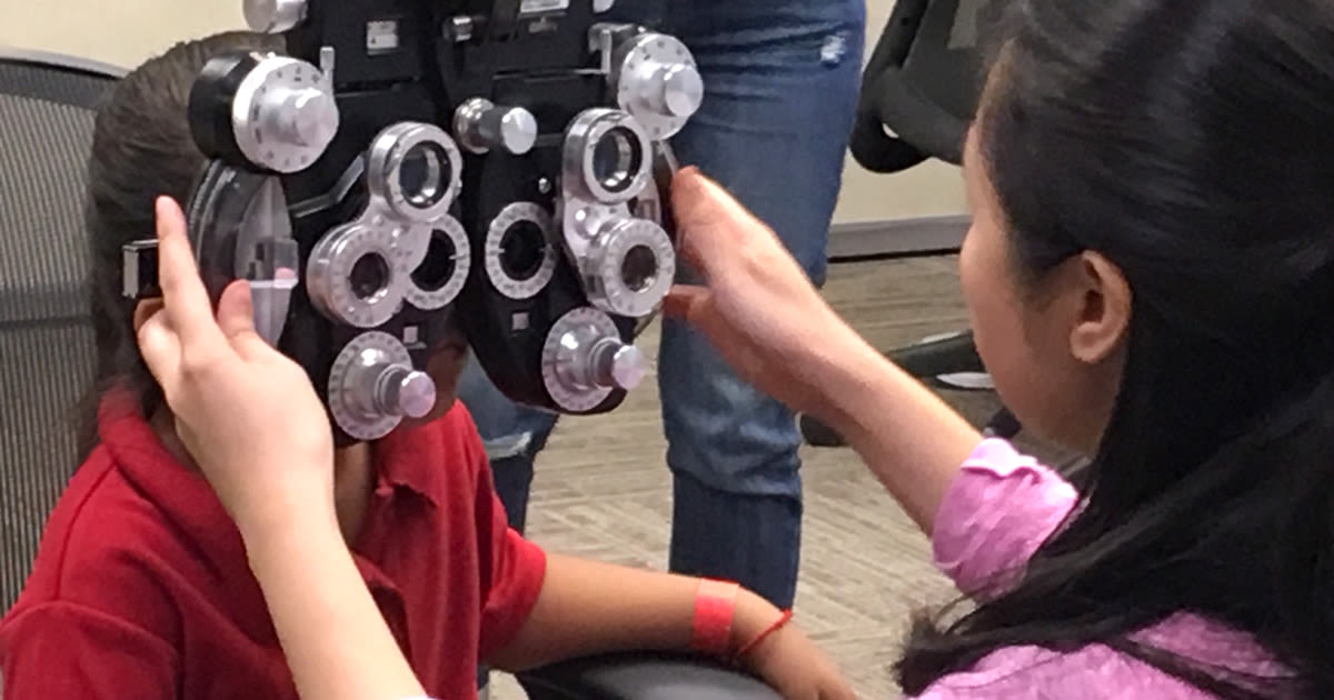 Giving the gift of vision on World Sight Day