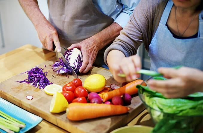 göz sağlığı için uygun beslenmenin hazırlanması