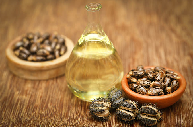 castor oil used to treat cataracts