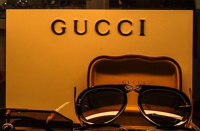 expensive Gucci sunglasses to be insured