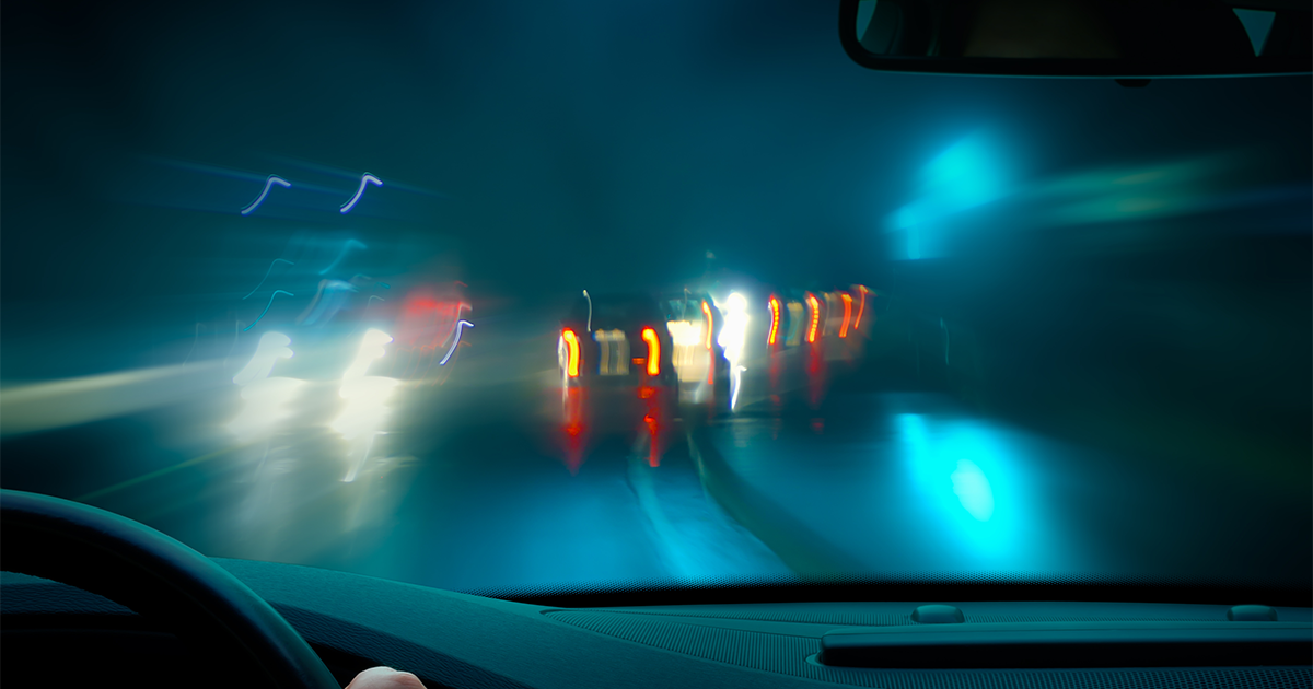 Night vision and driving: How safe are older drivers?