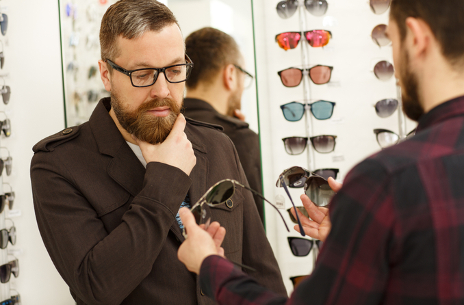 What's the average cost of prescription sunglasses?
