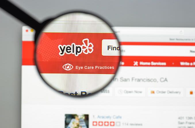 Yelp reviews of best eye care practices