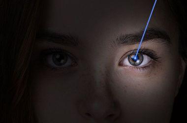 Femtosecond Lasik eye procedure.