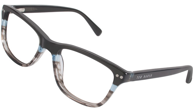 Black and blue frames