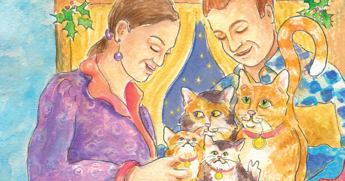 """""""A Christmas Tale"""" Children's Book Benefits Glaucoma Research"""