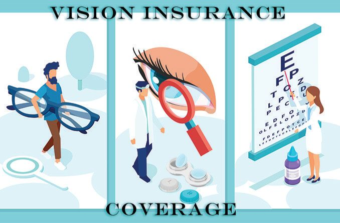 illustration of what vision insurance covers