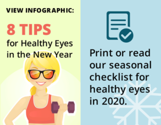 Healthy eyes graphic