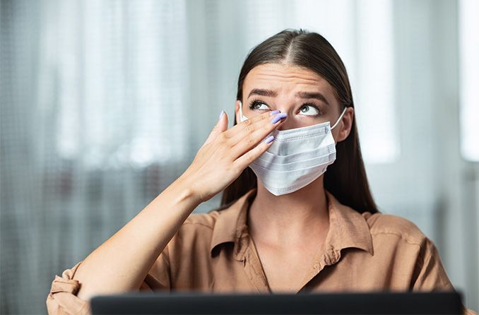 Eye germs and viruses: Keeping hands, glasses and contacts clean