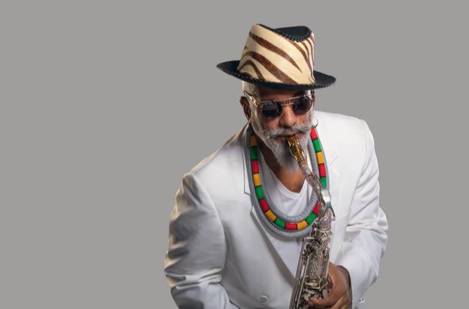 saxophonist Arturo Tappin
