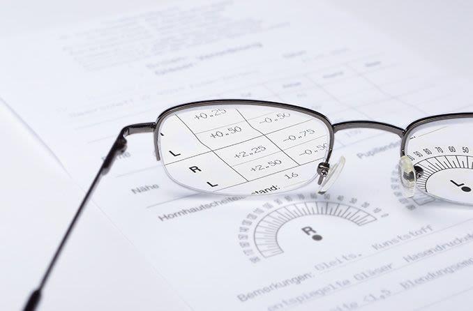 eyeglasses on top of glasses prescription form