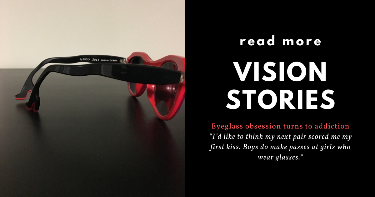 Eyeglasses Obsession Turns To Addiction All About Vision