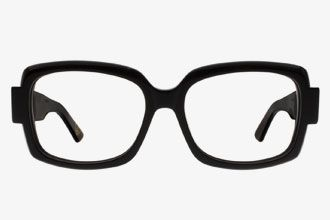 Oversized Black Eyeglass Frames
