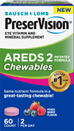 PreserVision mixed berry chewables