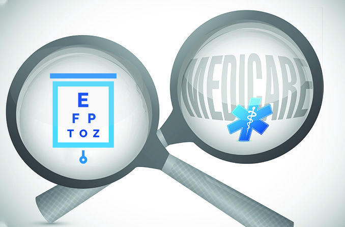 Can you use Medicare for an eye exam?