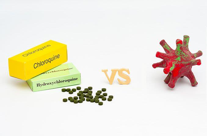 hydroxychloroquine drug vs coronavirus (covid-19)