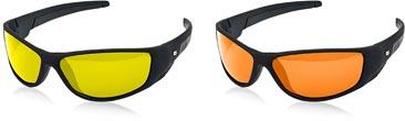 Yellow and orange sunglasses