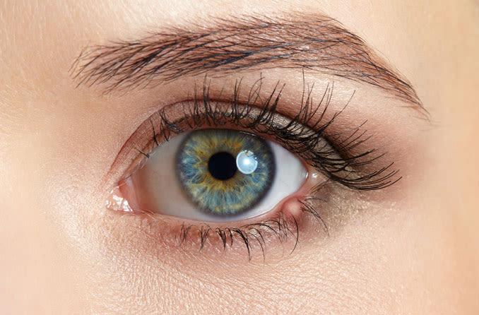 photo depiction of an eye stye