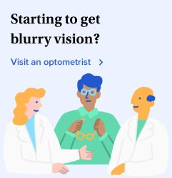 Starting to get blurry vision? Find an optometrist