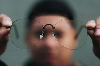 Surprisingly Sturdy Rimless Eyeglasses