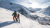 The snow-assured region of Andermatt is prized for all types of winter sport.