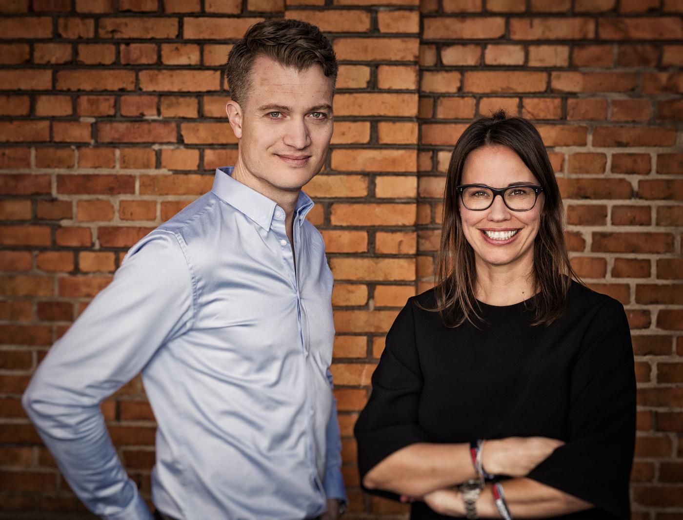 Alexander Bricca and Ebba Ljungerud
