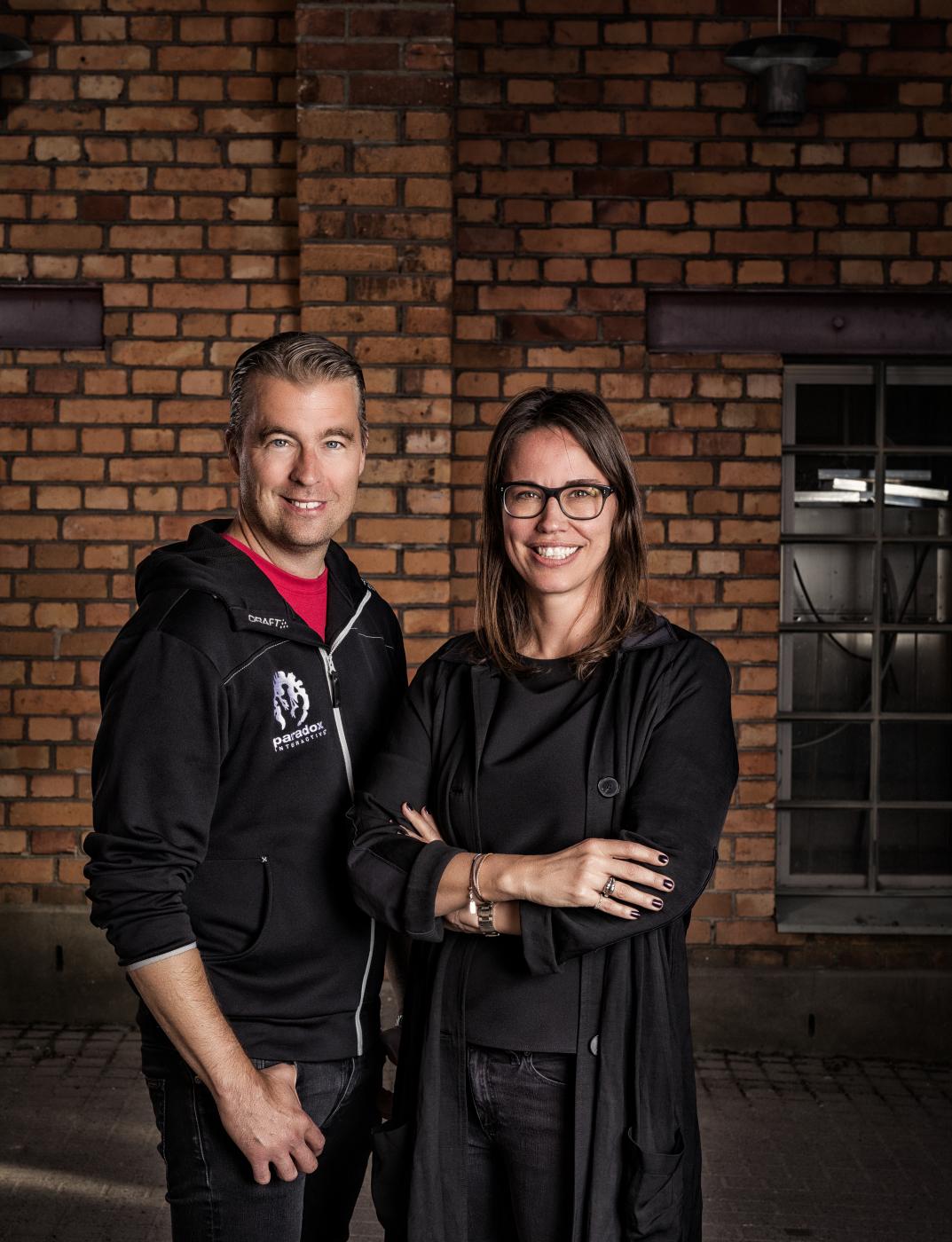 Ebba Ljungerud and Fredrik Wester