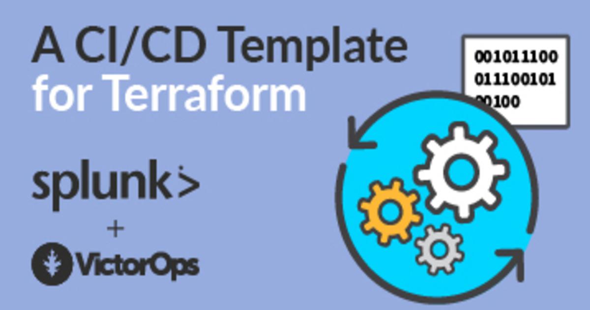 A CI/CD Template for Terraform | VictorOps