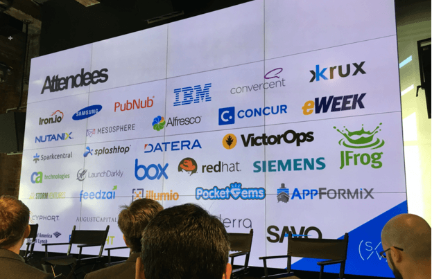 Attendees of Tech Stack Forum 2016