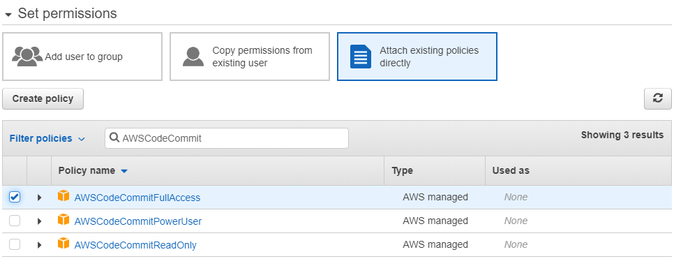 AWS CodeCommit Screenshot Graphic