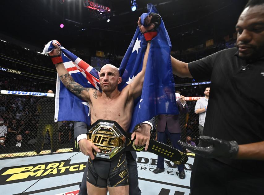 "Volkanovski reveals plans to become Australia's first UFC ""double champ"""