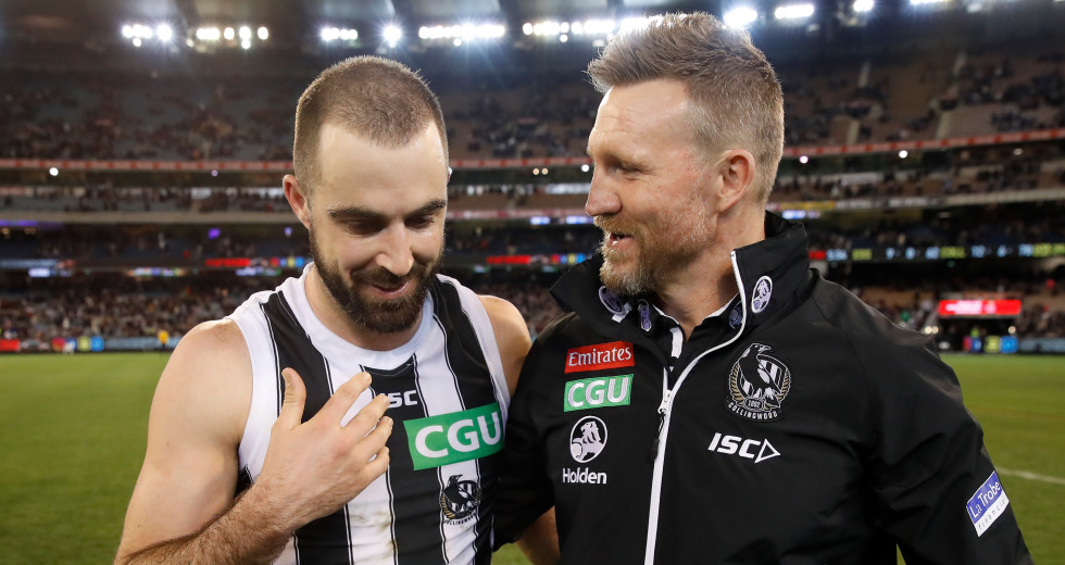 He S Quite Embarrassed By The Situation Nathan Buckley