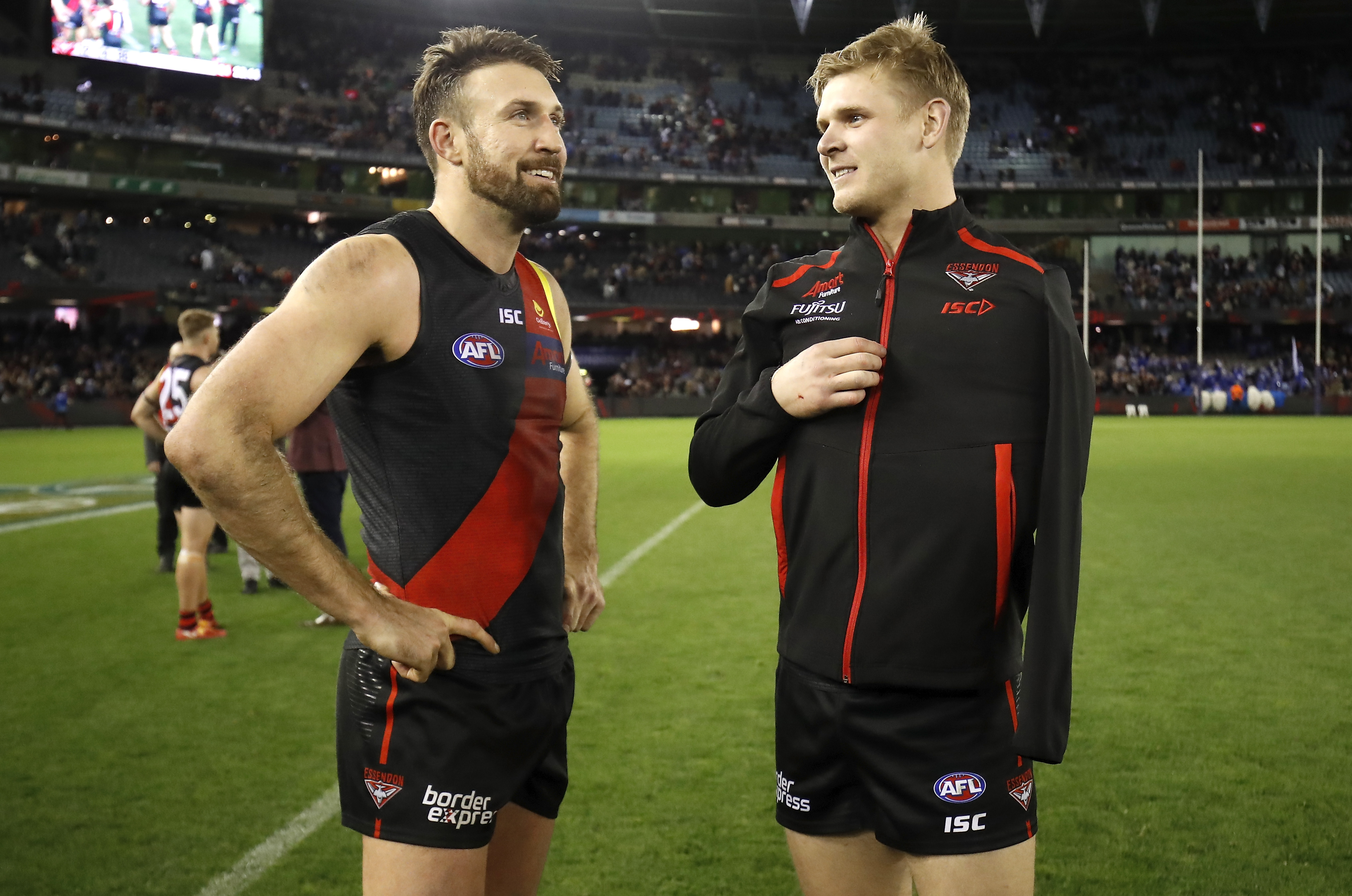 Cale Hooker Michael Hurley Essendon