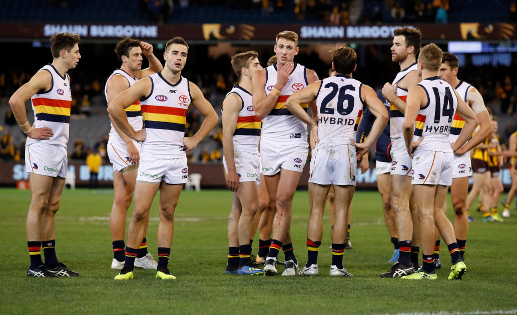 daab00fe6a45 How the Adelaide Crows can end up with a draft royal flush