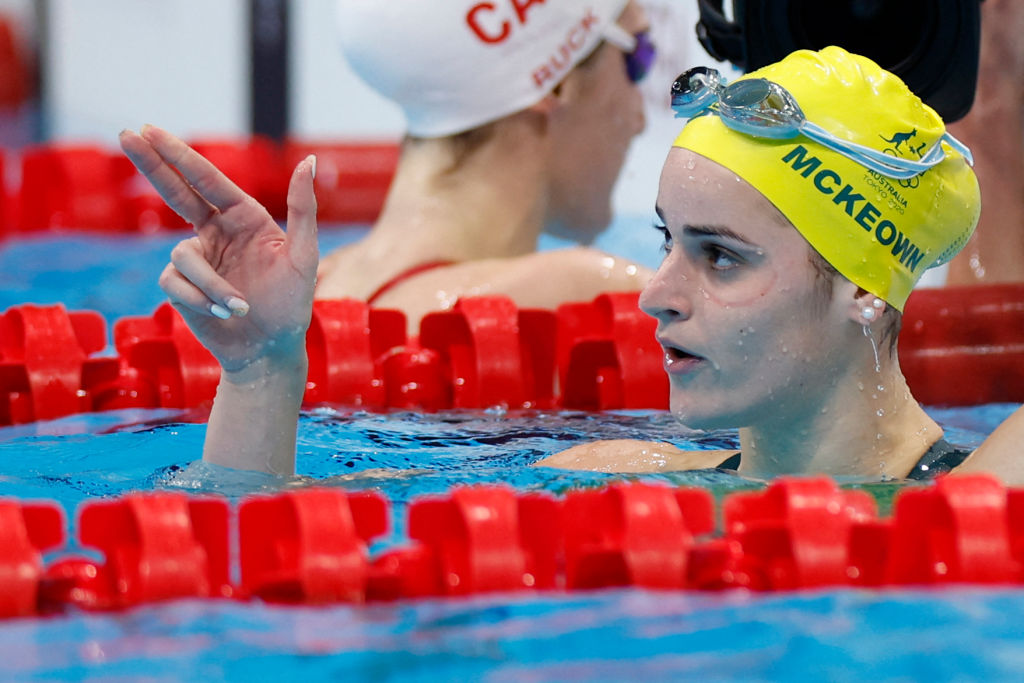 Australian medal haul continues to grow as McKeown wins second Olympic gold