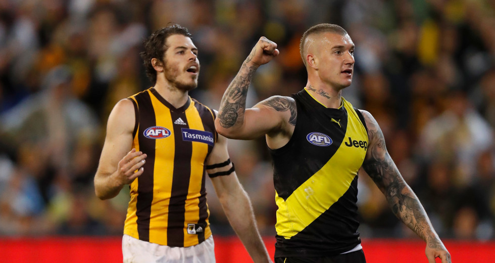 c9cd6df9f The Wrap Up: Richmond overpower Hawthorn to book Preliminary Final berth
