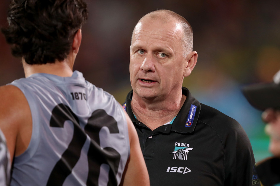 Port Adelaide coach doubles down on Carlton links